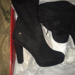 Guess high heel boots